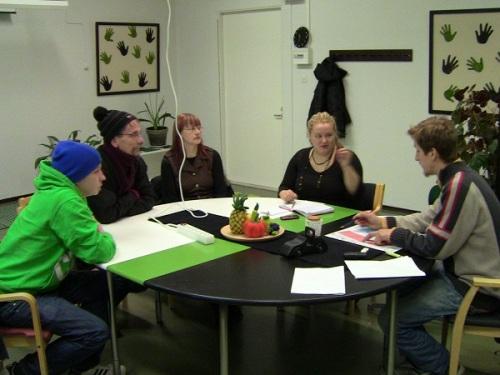 Juho, Kari, Satu, Minna ja Seppo